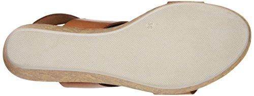 Sotoalto Damen 1021058791 Sandalen mit Knöchelriemen Braun
