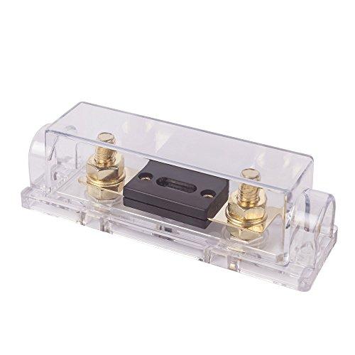 Renogy Solarmodul 30A Sicherungshalter Solarmodul Sicherungsbox Sicherungset Überladenschutz für Laderegler Solarmodul Kabel -