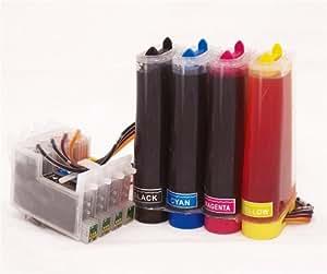 CISS Continuous Ink System for Epson S20 SX100 SX105 SX200 SX205 SX400 SX405 SX600FW BX300F BX600F