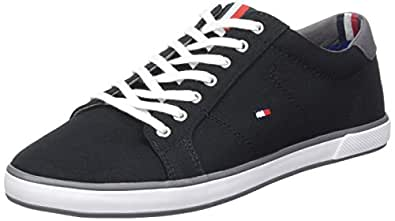 Tommy Hilfiger Herren H2285arlow 1d Low-Top Schwarz (Black 990) 39 EU