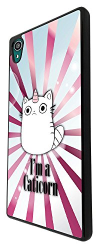 2044-Cool-Cute-Caticorn-Pet-Unicorn-kitten-Cat-Whimsical-Design-Sony-Xperia-Z3-Coque-Fashion-Trend-Case-Coque-Protection-Cover-plastique-et-mtal-Noir