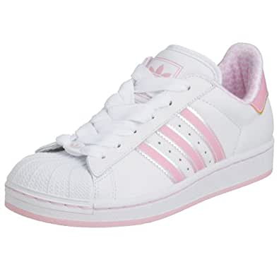 Adidas Originals Superstar 2 White/Pink Womens Trainers UK ...