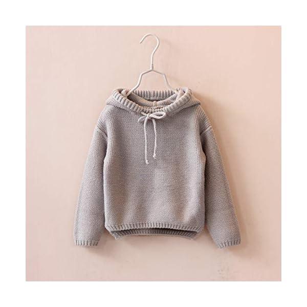 Berimaterry Jersey de Punto para Niños Niñas Suéter Chicas Chicos Navidad Ropa Bebé Niña Invierno Ropa De Punto Camiseta… 3