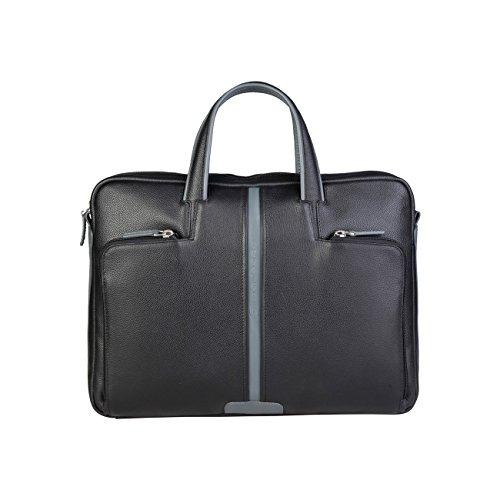 Piquadro Herren Aktentasche, schwarz