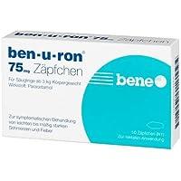 ben-u-ron Sparset 3x10 Zäpfchen. Zur Behandelung von leichten bis mäßig starken Schmerzen und Fieber für Säuglinge... preisvergleich bei billige-tabletten.eu