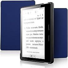 IVSO Der neue Kindle Oasis Hülle, Ultra Schlank Ständer Slim Leder zubehör Schutzhülle perfekt geeignet für Aazmon Kindle Oasis 7 Zoll (9. Generation - 2017 Modell) Tablet PC, Blau