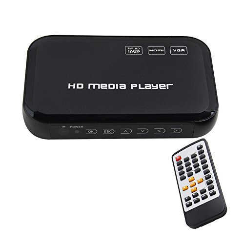 Pathson Full HD 1080P HDMI Media Player Center TV HDD MKV SD USB MP4 RM RMVB MPEG AVI Digital Auto-play Loop-Play