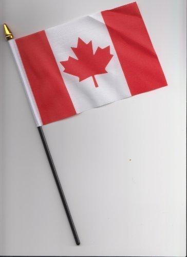 Drapeau Canada-mains 25 cm
