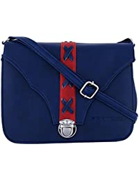 Fantosy Women Blue Cross Slingbag Fnsb-173