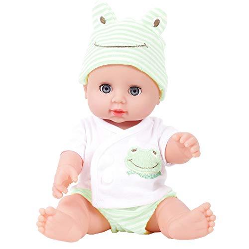 Oliviavan-Puppe Kind Simulation Baby-Puppe zwinkert Kindheit-Partner-Puppe Dress up -