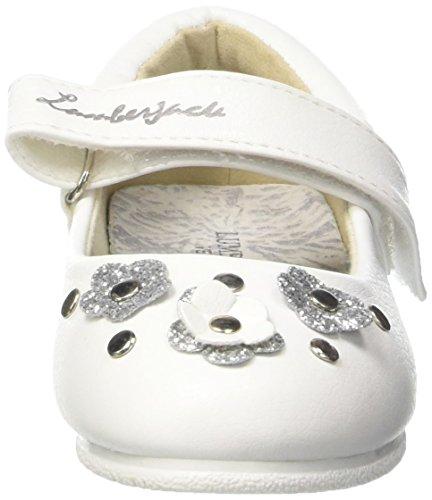Lumberjack Lulu, Ballerines fille Bianco