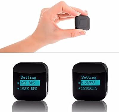 Grabadora de voz nítida espia activada por voz de pequeño tamaño modular - MiniTehnics