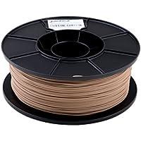JANBEX PLA Filament 1,75 mm 1kg Rolle für 3D Drucker oder Stift in Vakuumverpackung (Holz / Wood)
