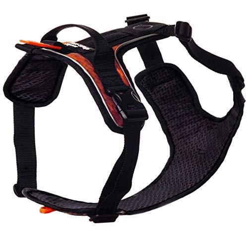 NON-stop dogwear Ultra Harness | 117 | Hunde-Geschirr für viele Aktivitäten, Größe:M (B60-82|H43-56)