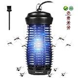 DEKINMAX Lampe Anti-Moustique 6W Tueur de Moustique Électrique Tueur D'insectes Bug Zapper Mouches Piège