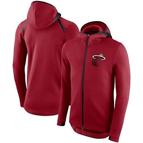 CNLINA NBA Sport Und Freizeit Jacke Zipper Hoodie Sweater Red-2-L