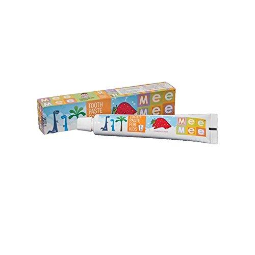 Mee Mee Fluoride-Free Strawberry Flavor Toothpaste 70g