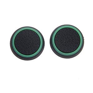 Paar Spiel Joystick Thumbstick Kappe Kappen für PlayStation 4 PS4 Controller