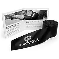 Outplanked Flossband Für Effektive Kompression und Therapie, Hochwertiges Voodoo Flossing Band Für Physio, Reha und Kraftsport mit Anleitung