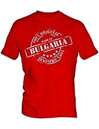 Made In Bulgaria - Mens T-Shirt T Shirt Tee Top