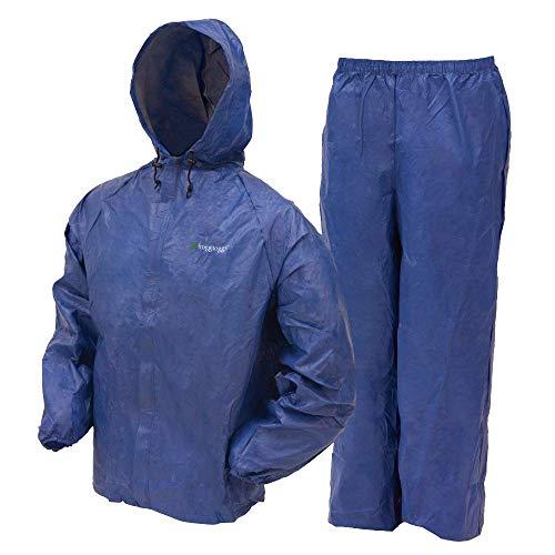 Frogg Togg Ultra-Lite2 Regenanzug, wasserabweisend, atmungsaktiv, für Herren, Damen und Jugendstile erhältlich, Herren, 840403, blau, X-Large - X-large Blau Camo