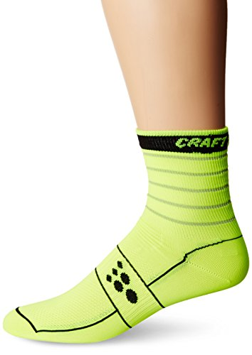 CRAFT 1 VELO GLOW   CALCETINES  COLOR FLUMINO/NOIR  TAMAÑO MEDIUM