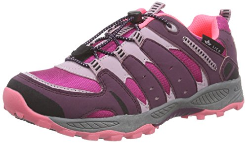 Lico Fremont, Chaussures de randonnée fille Rouge - Rot (bordeaux/rosa)