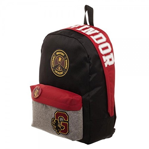 Harry Potter - Gryffindor Patch Rucksack | Lizensiertes Merchandise