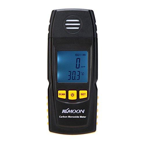 KKmoon Handheld Kohlenmonoxid Messgerät mit hoher Präzision CO Gas Tester Monitor Detektor Messgerät 0-1000 ppm GM8805