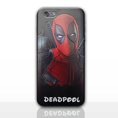 Weiche, Transparente TPU-Handyhülle for iPhone 5, iPhone 6, iphone7, 7plus & 8plus (iPhone X, Deadpool) (Hero 6 Von Disney)