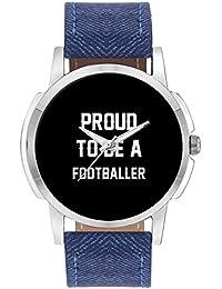 Wrist Watch For Men - Proud To Be A Footballer Best Gift For FOOTBALLER - Analog Men's And Boy's Unique Quartz...