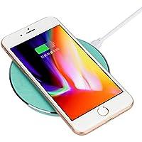 Lanspo Schnelles charger drahtlos ladegerät , Qi-zertifiziertes, Ladepad für IPhone/Samsung Lanspo
