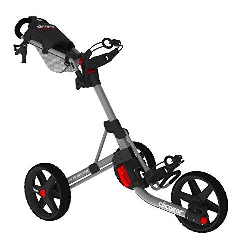 Clicgear Modell 3,5+ Golf Push Cart, unisex, grau / schwarz, Einheitsgröße
