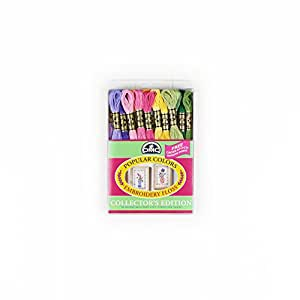 DMC Embroidery Floss Pack 8.7 Yards-Popular Colors 36/Pkg