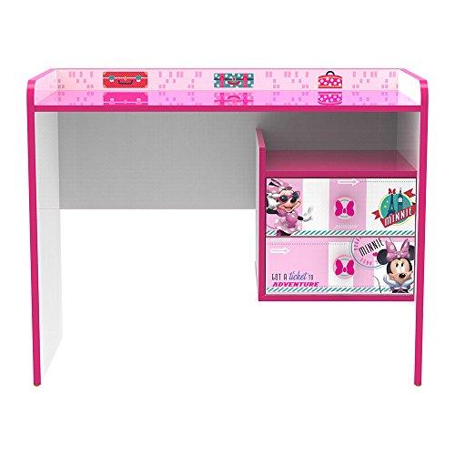 Stor - Table -Bureau pour Enfants   Minnie Mouse Jetset   Disney - Dimensions: 79,5 x 100 x 50 cm. - Plusieurs Personnages
