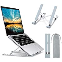 "Babacom Support Ordinateur Portable, Support PC Portable à 9 Niveaux Réglables, Refroidisseur en Aluminium Ventilé Compatible avec MacBook, Dell, Lenovo, HP, Autres Laptops Tablettes 10"" - 15.6"""