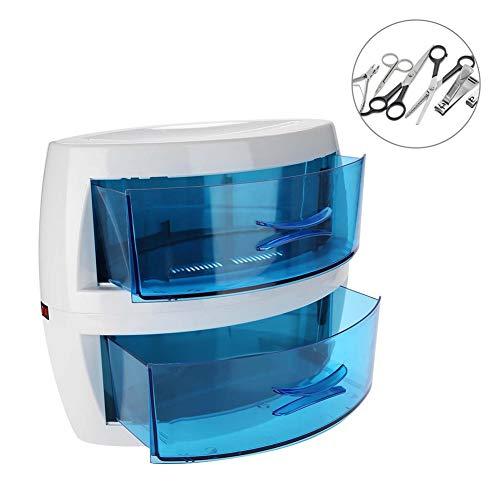 doppelter Schublade, Maniküre Werkzeuge Reiniger Maschine, Große Kapazität Desinfektion Sterilisationsgerät für Schönheitssalon und Nagelstudio, FDA Zertifizierung ()