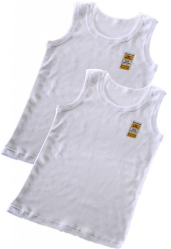 Boys-2-Pack-Warm-WHITE-100-Cotton-Winter-Vest-Top-Sizes-1-2-3-5-6-7-9-11-11-13-Years-11-13