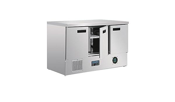 Minibar Kühlschrank Polar : Polar kühltisch türig liter gastro saladette mit
