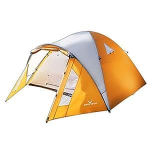 Black Canyon -Tente dôme Mountain pour 3-4 personnes Orange