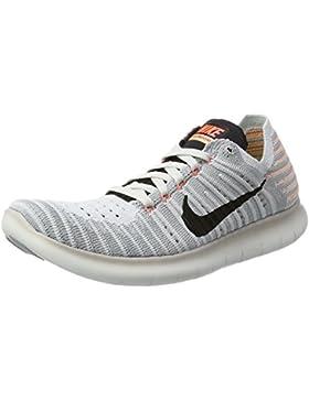 Nike Damen Free Rn Flyknit Hallenschuhe