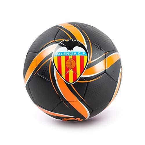 PUMA Valencia CF Future 2019-2020, Balón, Black-Vibrant Orange