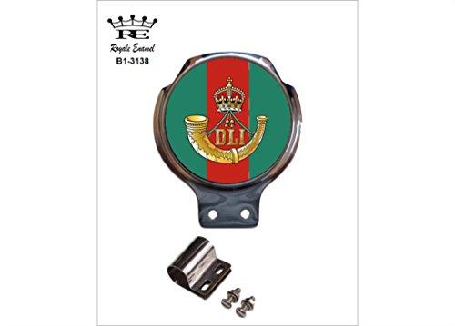 Preisvergleich Produktbild Royale Emaille Royale Auto Scooter Bar Badge – Durham Leichte Infanterie B1. Michael Jackson Thriller 25