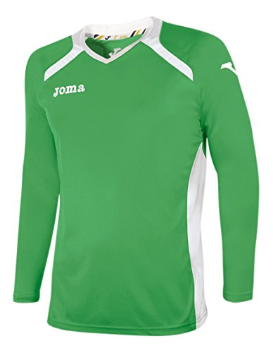 Joma 1196 99 002 T-Shirt manches longues Femme Vert/Blanc
