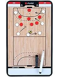 Pure2Improve P2I100630 Accessoire d'Entrainement de Handball Mixte Adulte, Orange/Blanc