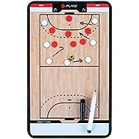 Pure2Improve Trainingsboard Handball, Weiß/Beige/Schwarz, 35 x 22 cm