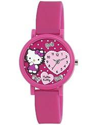 Hello Kitty Kinder-Armbanduhr Analog Silikon Rosa AHK022