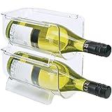 Mondex PLS277-00 Range Bouteille pour réfrigérateur Plastique Transparent 20,5 x 11,6 x 10,5 cm