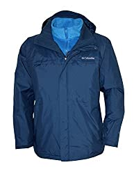 Columbia Men Arctic Trip Ii Interchange Omni-heat Winter Jacket (L)