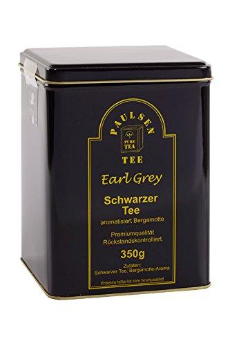 Paulsen Tee Schwarzer Tee Earl Grey in Teedose 350g